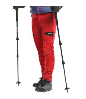 Pantalones Trekking +8000 Nordmore Hombre Rojo