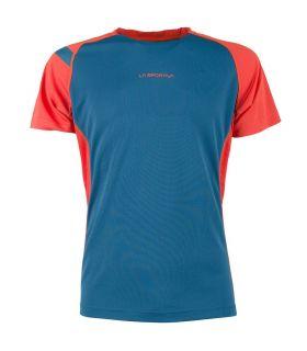 Camiseta running La Sportiva Apex Hombre Azul. Oferta y Comprar online