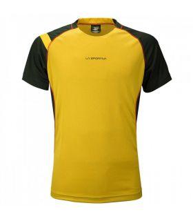 Camiseta running La Sportiva Apex Hombre Amarillo