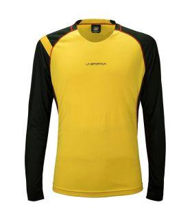 Camiseta running La Sportiva Hero Hombre Amarillo