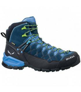 Botas de Montaña Salewa MS Alp Trainer mid GTX Hombre Azul. Oferta y Comprar online
