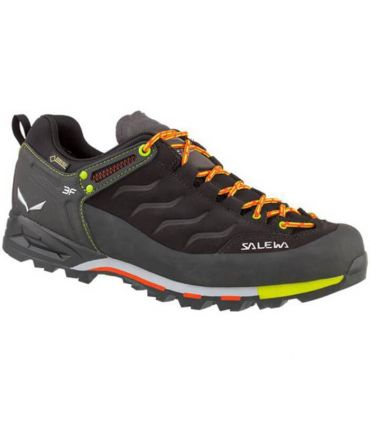 Zapatillas de trekking Salewa Ms Mtn Trainer GoreTex Hombre Negro Naranja