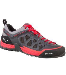 Zapatillas trekking Salewa MS Firetail 3 Hombre Gris Rojo