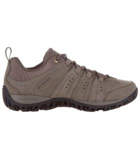 Zapatillas Montaña Columbia Woodburn Plus II Waterproof Hombre Marron Claro. Oferta y Comprar online