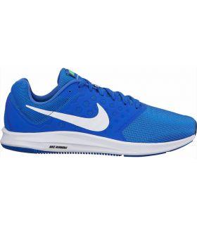 Zapatillas Running Nike Downshifter 7 Hombre Azul Blanco