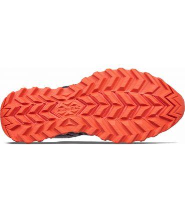 Zapatillas Saucony Xodus ISO 2 Hombre Negro Naranja