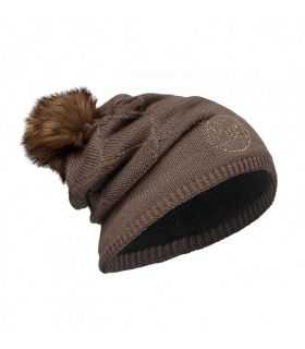 Gorro de punto Buff Stella Marron Chocolate