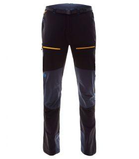 Pantalones Ternua Karl Hombre Negro Ocre