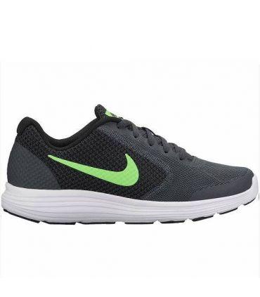 Zapatillas Nike Revolution 3 Hombre Gris Verde