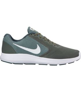 Zapatillas Nike Revolution 3 Hombre Kaki