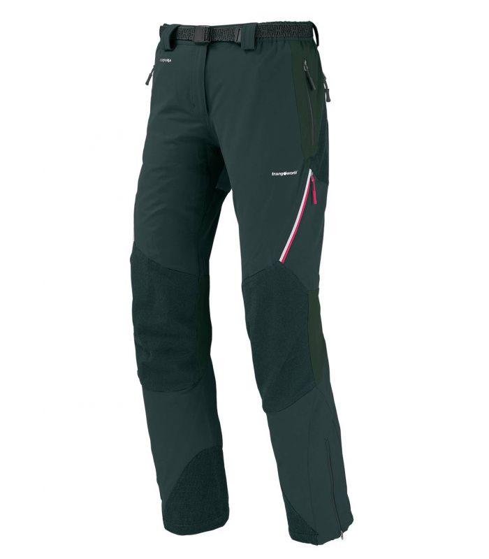 Compra online Pantalones Trangoworld Uhsi Extreme DS Mujer Negro Rosa en oferta al mejor precio