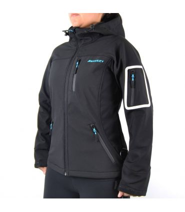 Chaqueta Soft Shell Breezy Willy Willy Mujer Negro