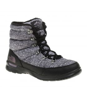 Botas The North Face Thermoball Lace II Mujer Negro