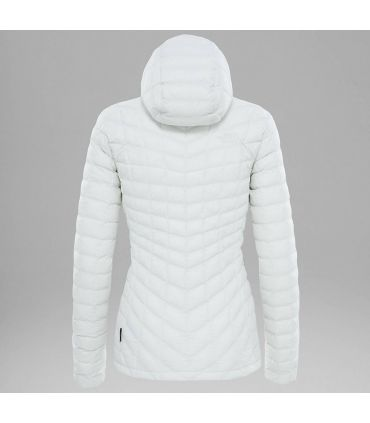 Chaqueta The North Face Thermoball Hoodie Mujer Blanco
