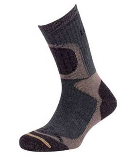 Calcetines Lorpen T2 Hunting Extreme Crew H2HC Hombre Gris Oscuro