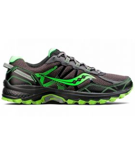 Zapatillas trail running Saucony Excursion TR11 Hombre Negro Verde
