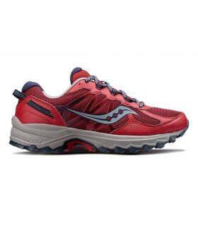 Zapatillas trail running Saucony Excursion TR11 Hombre Rojo Gris. Oferta y Comprar online
