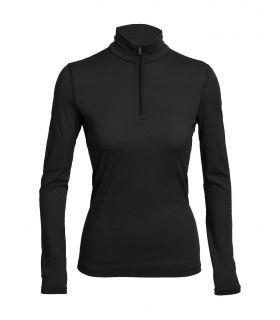 Camiseta térmica IceBreaker Oasis LS Half Zip Mujer. Oferta y Comprar online