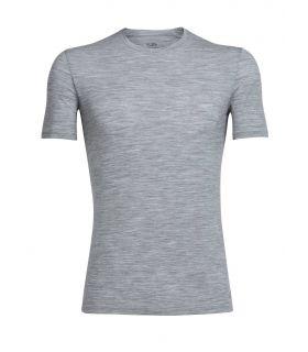 Camiseta IceBreaker Anatomica SS Crew Hombre Gris