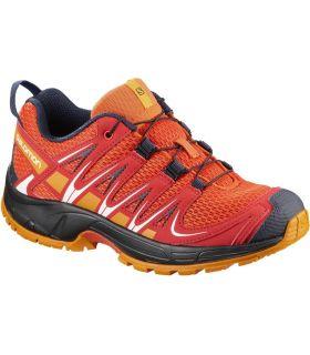 Zapatillas Trail Running Salomon Xa Pro 3d J Niños Naranja