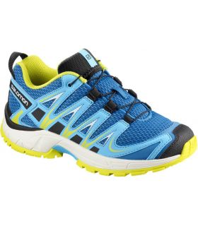 Zapatillas Salomon Xa Pro 3d K Niños Azul Amarillo. Oferta y Comprar online