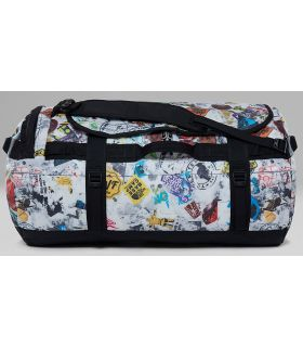 Bolso The North Face Base Camp Duffel L Blanco Print