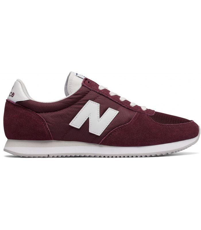 Compra online Zapatillas New Balance U220 Hombre Burdeos en oferta al mejor precio