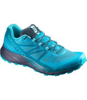 Zapatillas trail running Salomon Sense Ride Mujer Azul