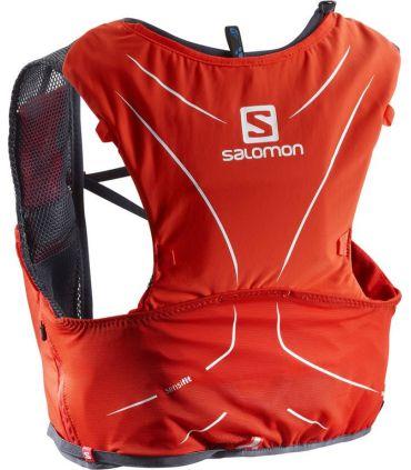 Mochila trail running Salomon Adv Skin 5 Set Rojo Negro