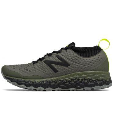 Zapatillas New Balance Fresh Foam Hierro V3 Hombre Verde Militar