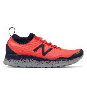 Zapatillas New Balance Fresh Foam Hierro V3 Mujer Coral Vivo. Oferta y Comprar online