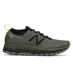 Zapatillas New Balance Fresh Foam Hierro V3 Hombre Verde Militar. Oferta y Comprar online