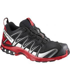 Zapatillas trail running Salomon Xa Pro 3D GTX Hombre Negro Rojo