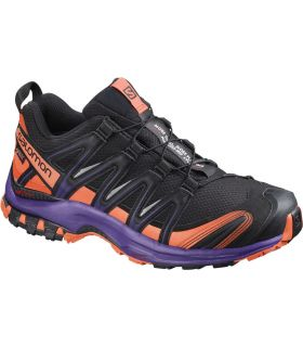 Zapatillas trail running Salomon Xa Pro 3D GTX Mujer Negro Violeta
