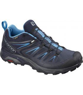 Zapatillas Salomon X Ultra 3 GTX Hombre Azul Azul. Oferta y Comprar online