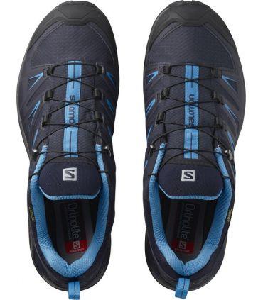 Zapatillas Salomon X Ultra 3 GTX Hombre Azul Azul