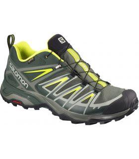 Zapatillas Salomon X Ultra 3 GTX Hombre Gris Amarillo. Oferta y Comprar online