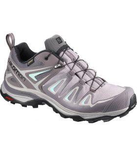 Zapatillas de trekking Salomon X Ultra 3 GTX Mujer Gris. Oferta y Comprar online