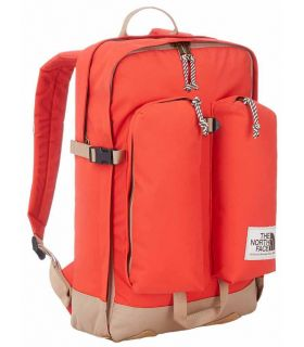 Mochila The North Face Crevasse Rojo