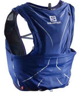 Mochila trail running Salomon Adv Skin 12 Set Azul Oceano
