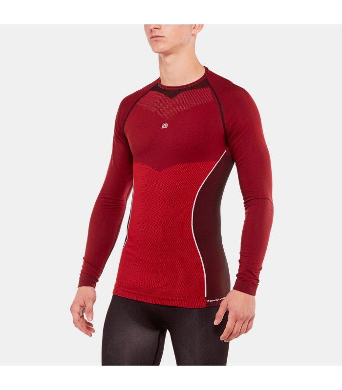 Compra online Camiseta termica Hg Original 8030 Hombre Rojo en oferta al mejor precio