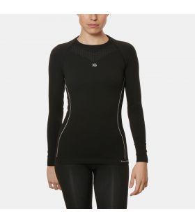 Camiseta Térmica HG Sport 8050 Mujer Negro. Oferta y Comprar online