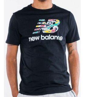 Camiseta New Balance Full Up Tee Hombre Negro