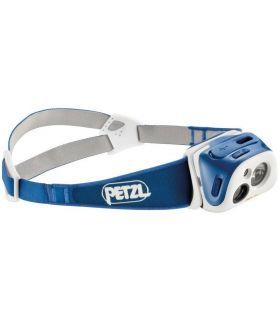 Frontal Petzl Reactik Azul. Oferta y Comprar online