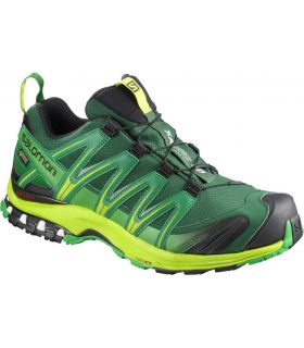 Zapatillas trail running Salomon Xa Pro 3D GTX Hombre Verde Negro