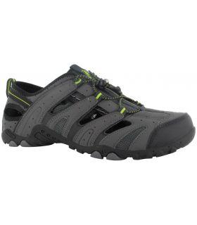 Sandalía Hi-Tec Tortola Escape Hombre Carbón Negro