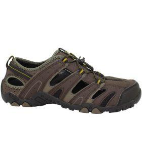 Sandalía Hi-Tec Tortola Escape Hombre Chocolate Taupe Oscuro