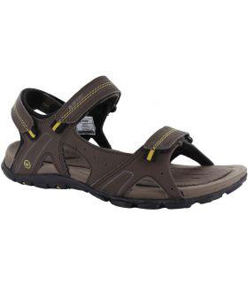 Sandalía Hi-Tec Terreno Strap Hombre Chocolate Taupe Oscuro