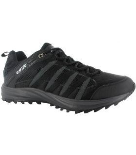 Zapatillas Hi-Tec Sensor Trail Lite Hombre Negro Carbón