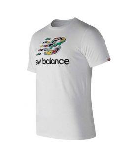 Camiseta New Balance Full Up Tee Hombre Blanco